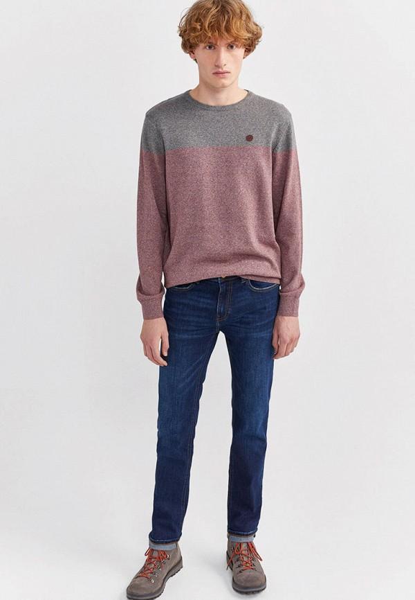 мужские зауженные джинсы springfield, синие