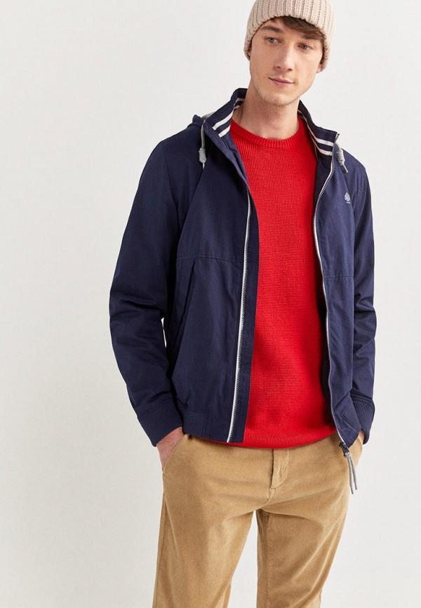 мужская куртка springfield, синяя