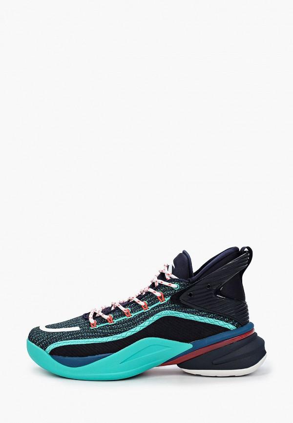 мужские низкие кроссовки anta, синие