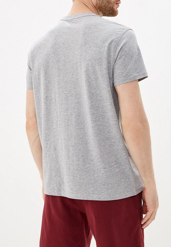 Фото 3 - Мужскую футболку Trespass серого цвета