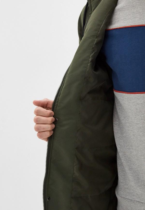 Фото 4 - Куртку утепленная Befree цвета хаки