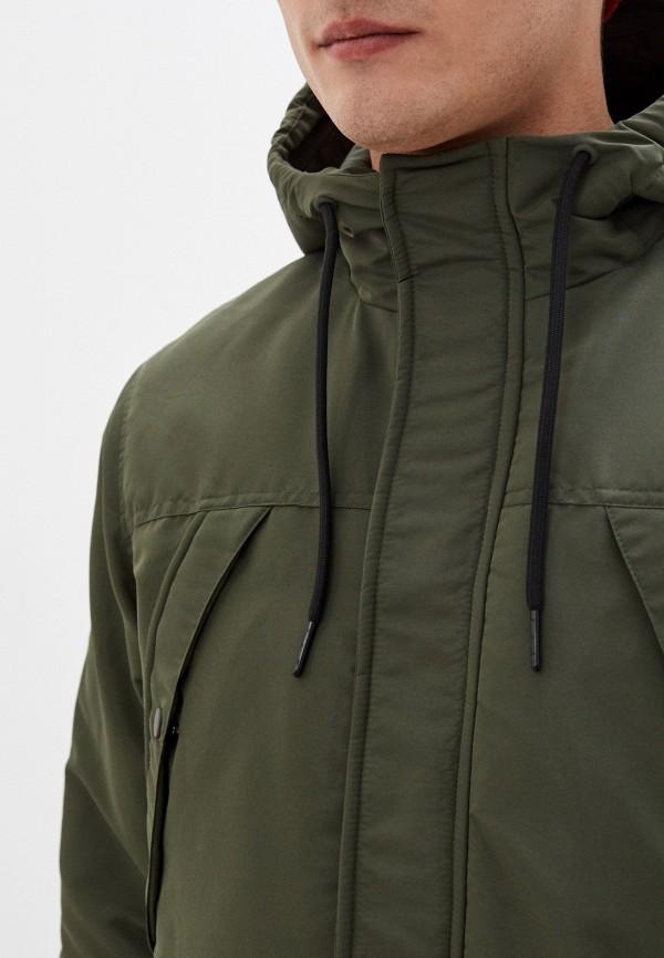 Фото 5 - Куртку утепленная Befree цвета хаки