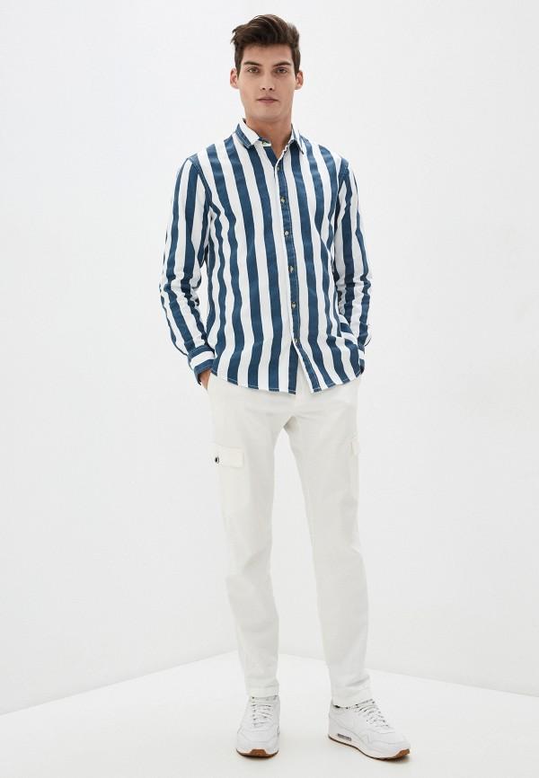 Фото 2 - Мужскую рубашку Befree разноцветного цвета