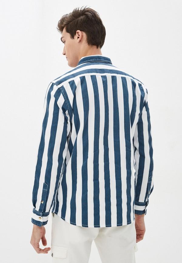 Фото 3 - Мужскую рубашку Befree разноцветного цвета