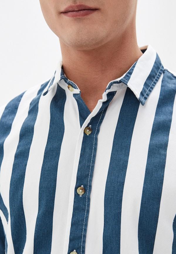 Фото 4 - Мужскую рубашку Befree разноцветного цвета