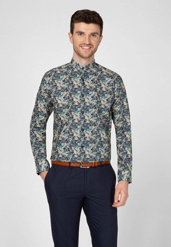 мужская рубашка с длинным рукавом navi, синяя