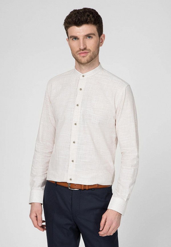мужская рубашка navi, бежевая