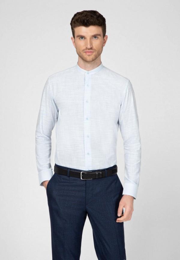 мужская рубашка navi, голубая