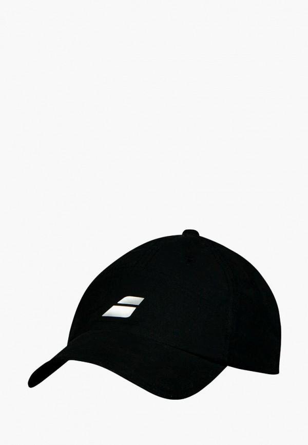 мужская бейсболка babolat, черная