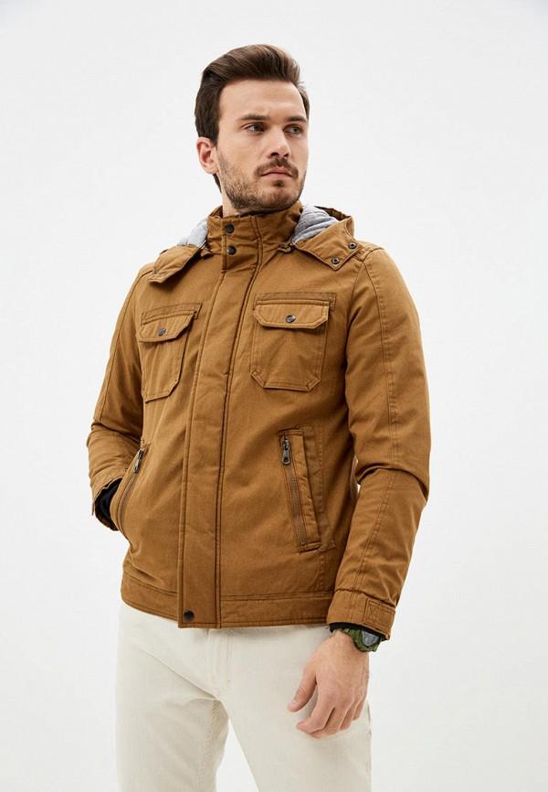 мужская куртка defacto, коричневая