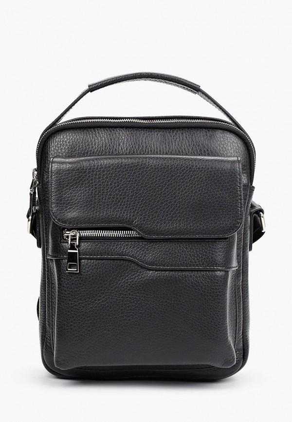 мужская сумка через плечо ralf ringer, черная