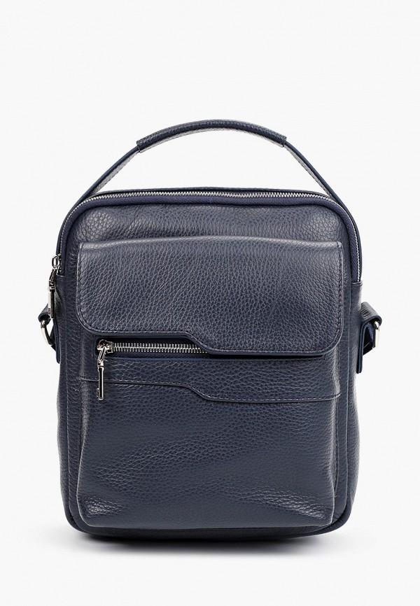 мужская сумка через плечо ralf ringer, синяя