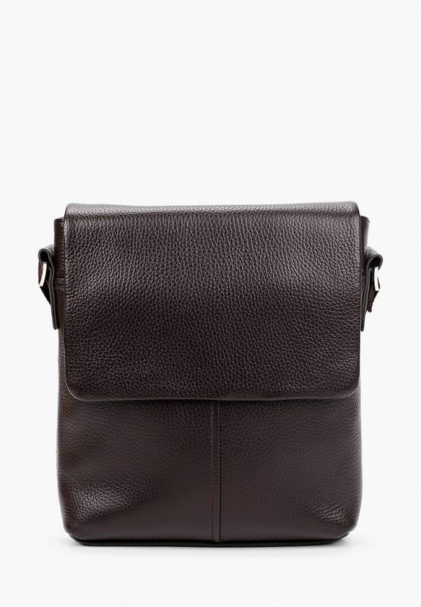мужская сумка через плечо ralf ringer, коричневая
