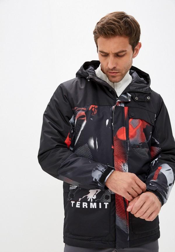 мужская горнолыжные куртка termit, черная