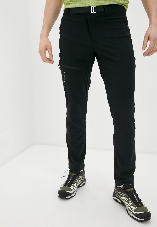 мужские спортивные брюки columbia, черные