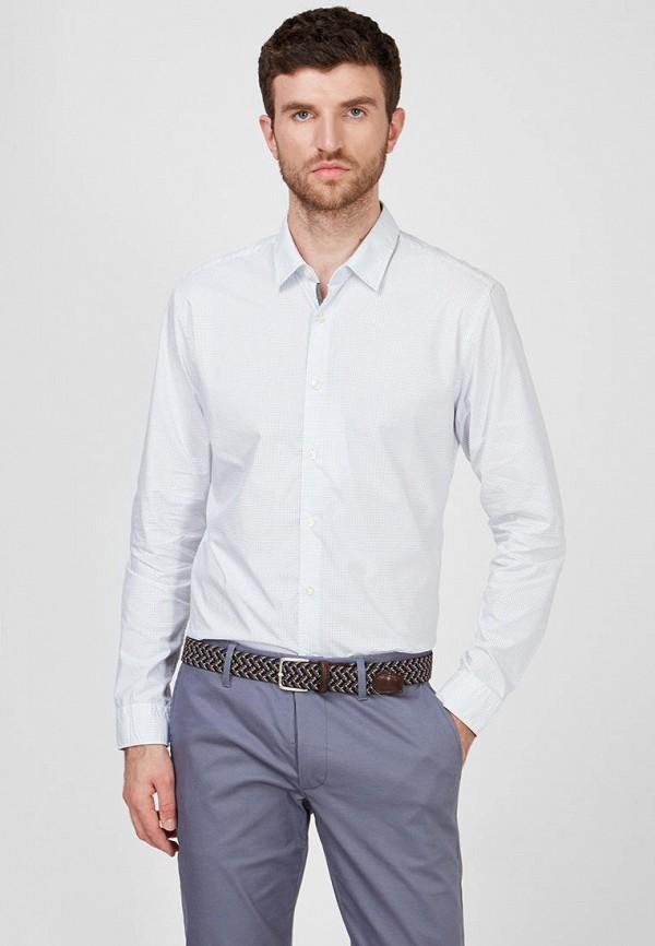мужская рубашка с длинным рукавом esprit, белая