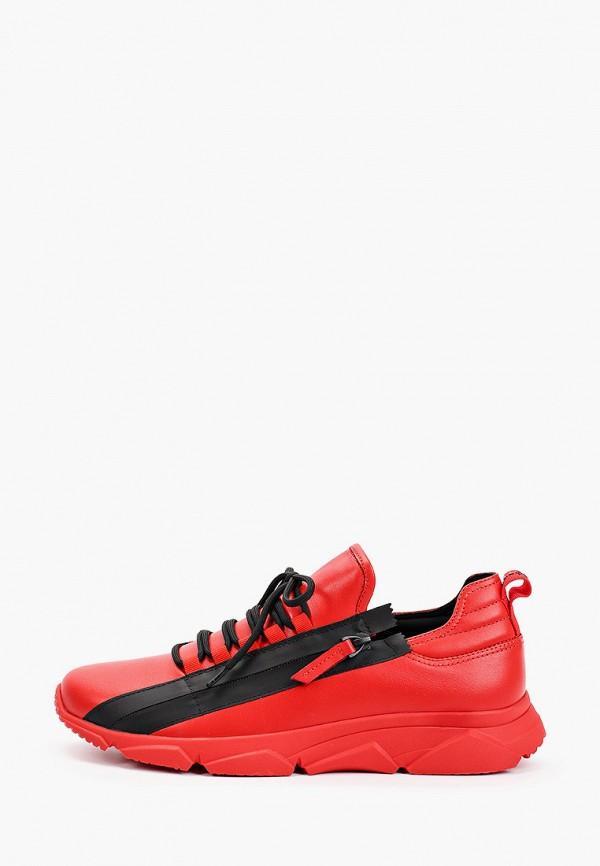 мужские низкие кроссовки mascotte, красные