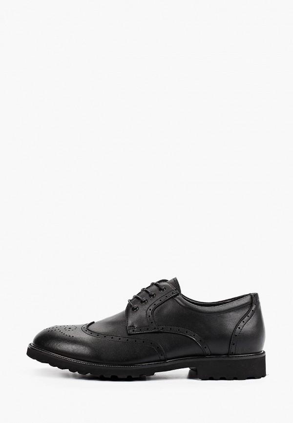 мужские туфли-дерби thomas munz, черные