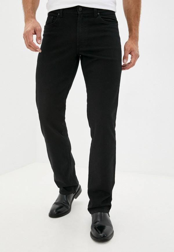 мужские прямые джинсы henderson, черные