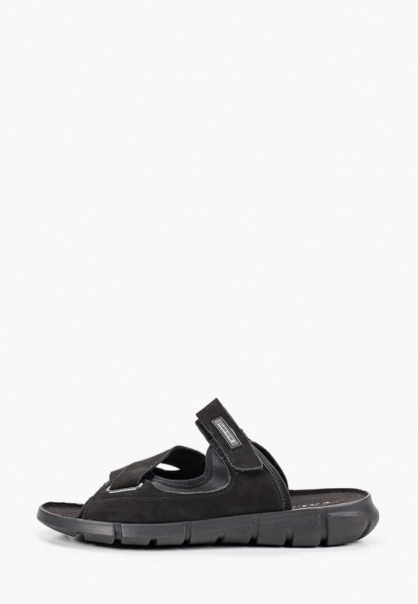 мужские сандалии valser, черные