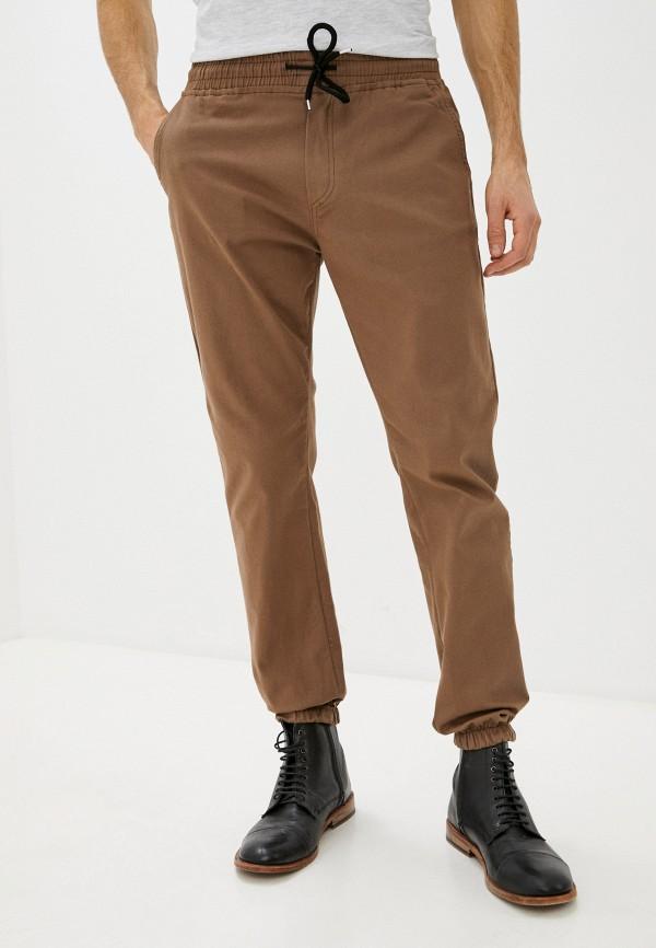 мужские брюки джоггеры trendyol, коричневые