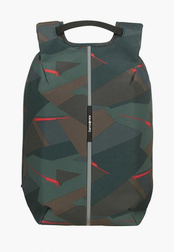 мужской рюкзак samsonite, зеленый