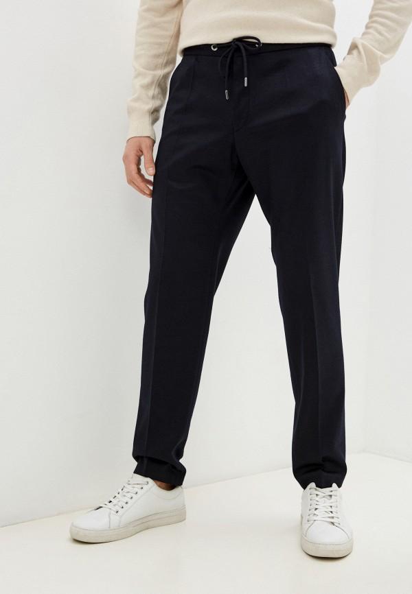 мужские брюки джоггеры boss, синие