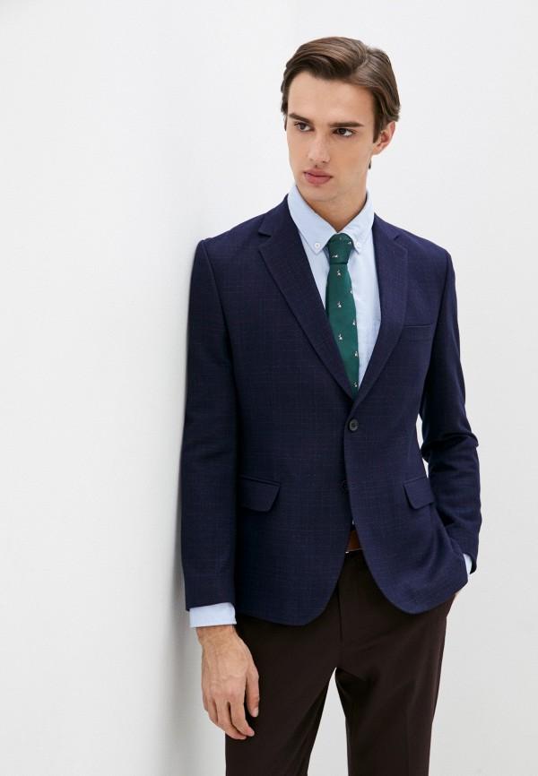 мужской пиджак mason grace, синий