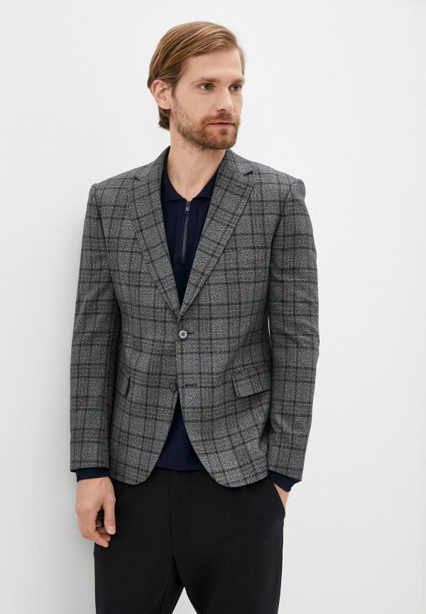 мужской пиджак mason grace, серый