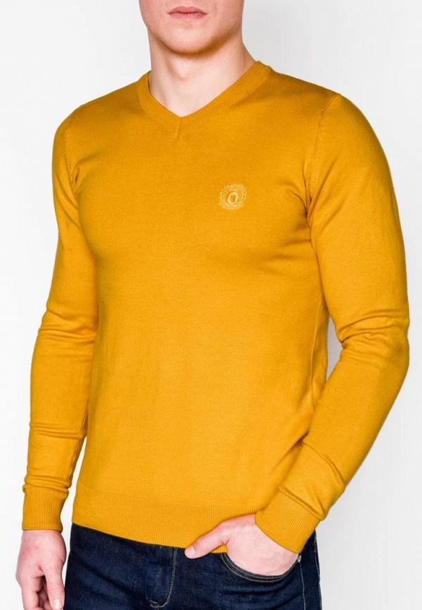 мужской пуловер ombre, желтый