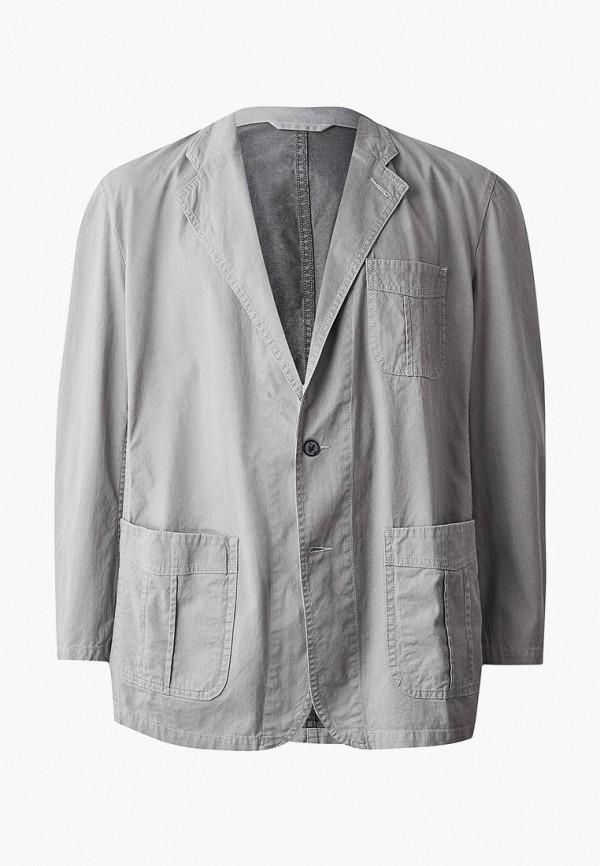 мужской пиджак galion, серый