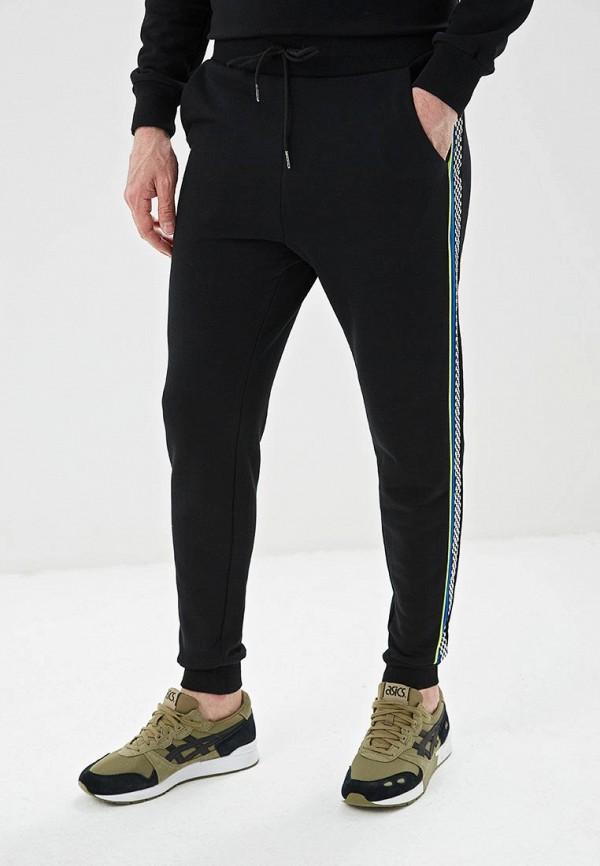 мужские спортивные спортивные брюки tom farr, черные
