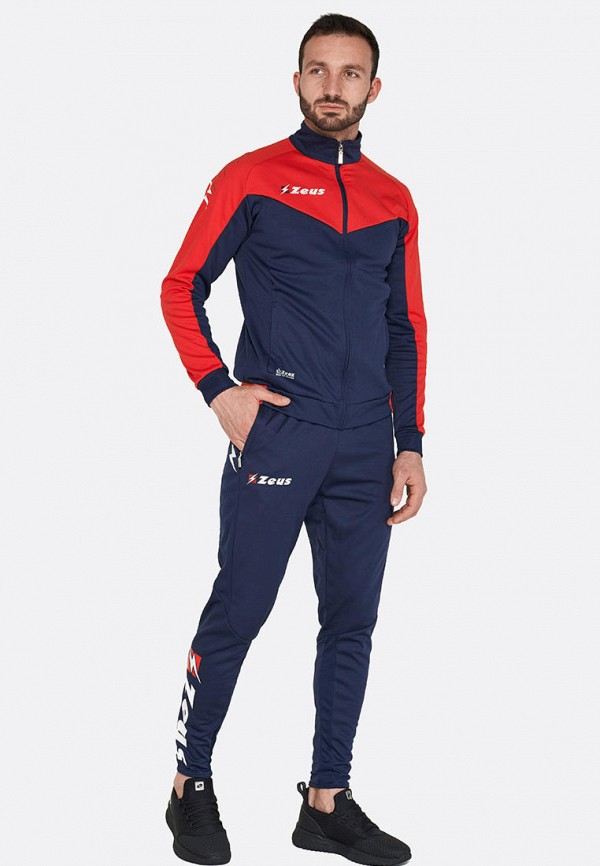 мужской спортивный костюм zeus, синий