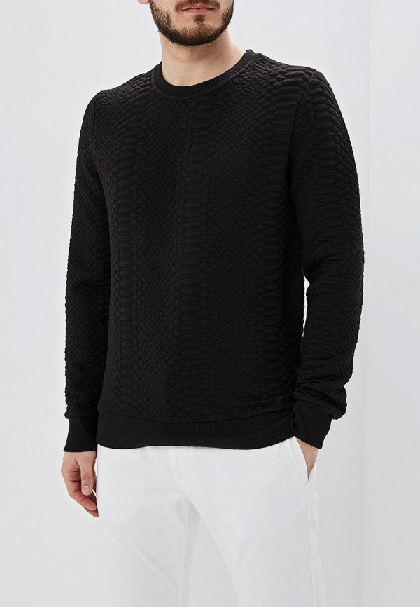 мужской свитшот colin's, черный