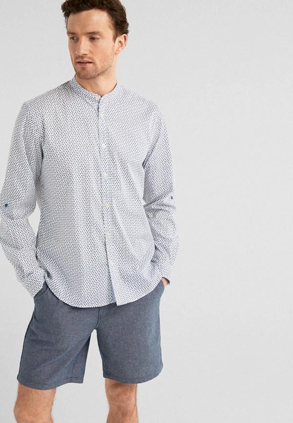 мужская рубашка с длинным рукавом springfield, белая
