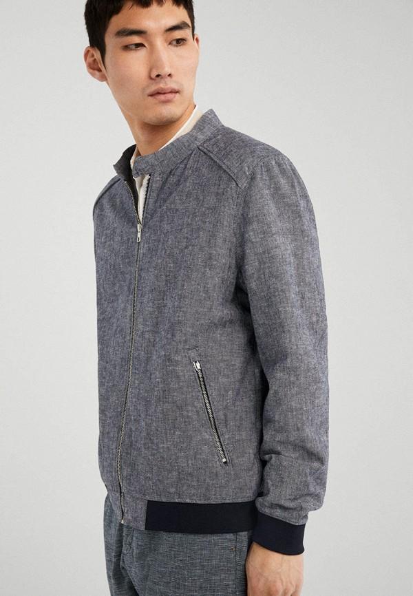 мужская куртка springfield, серая