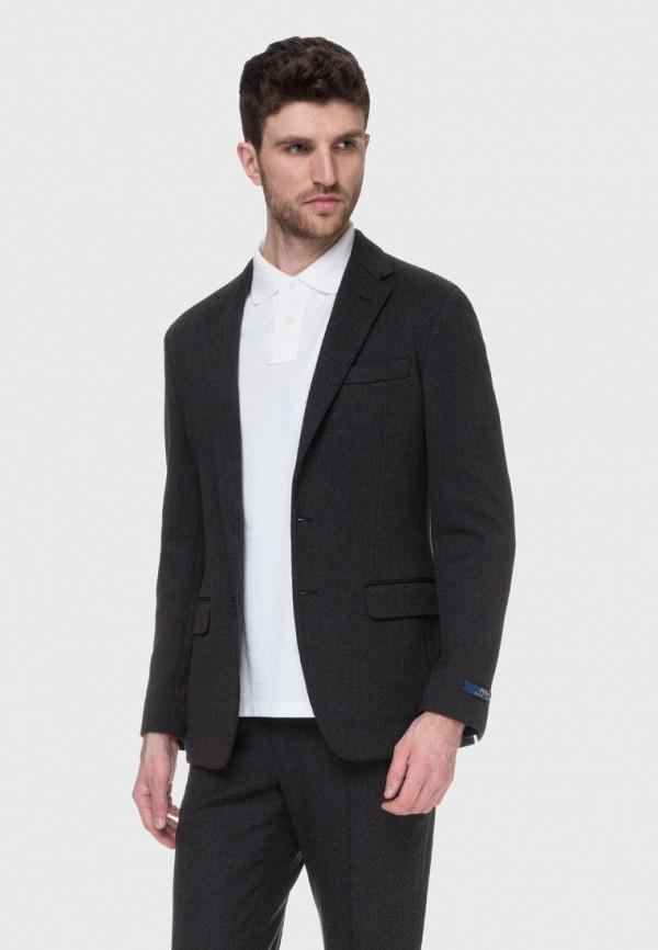 мужской пиджак polo ralph lauren, серый