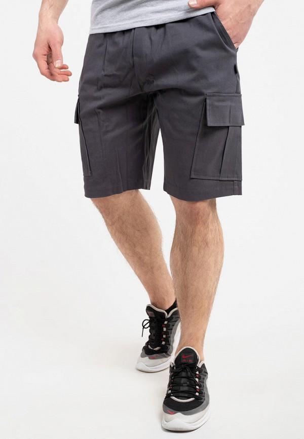 мужские повседневные шорты intruder, серые