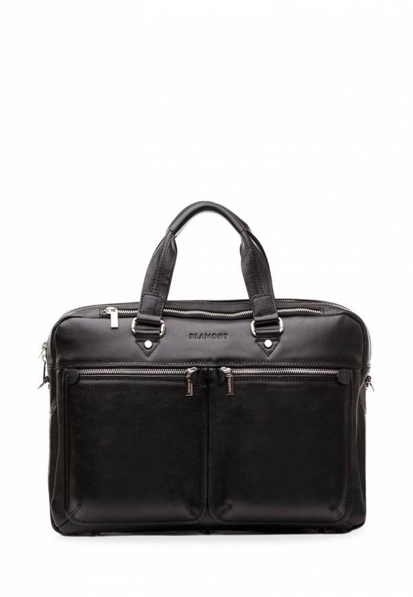 мужская сумка blamont, черная
