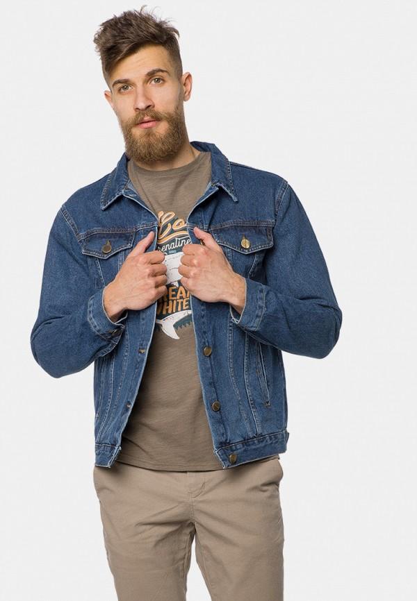 мужская джинсовые куртка mr520, синяя