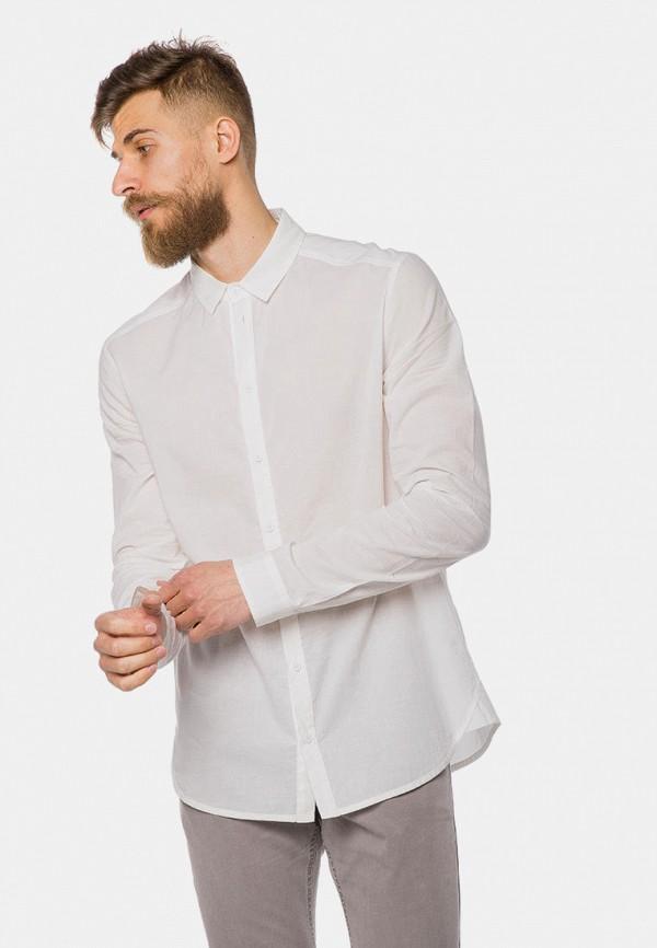 мужская рубашка с длинным рукавом mr520, белая
