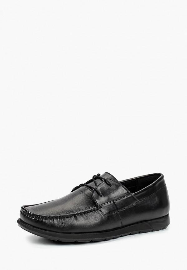 мужские туфли-дерби woodland, черные