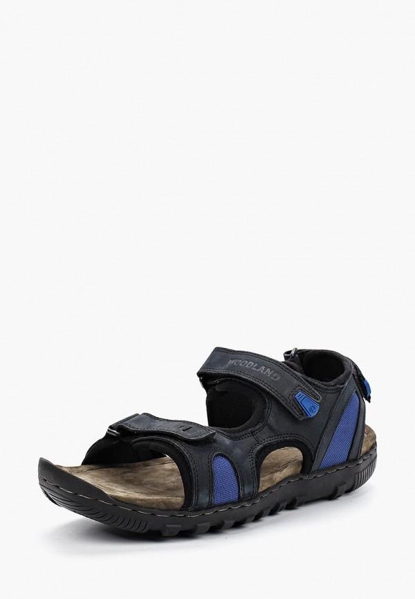 мужские сандалии woodland, синие
