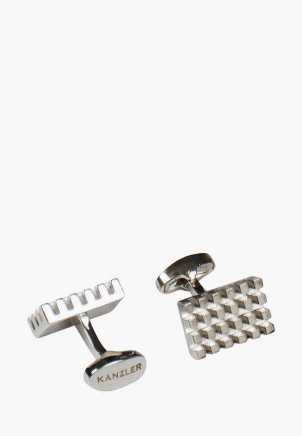 Запонки Kanzler серебрянного цвета