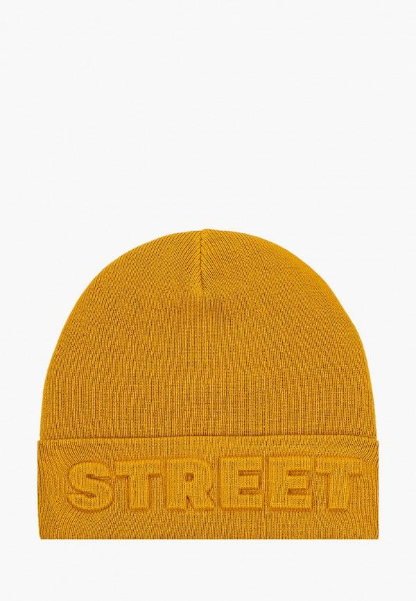 мужская шапка keddo, желтая