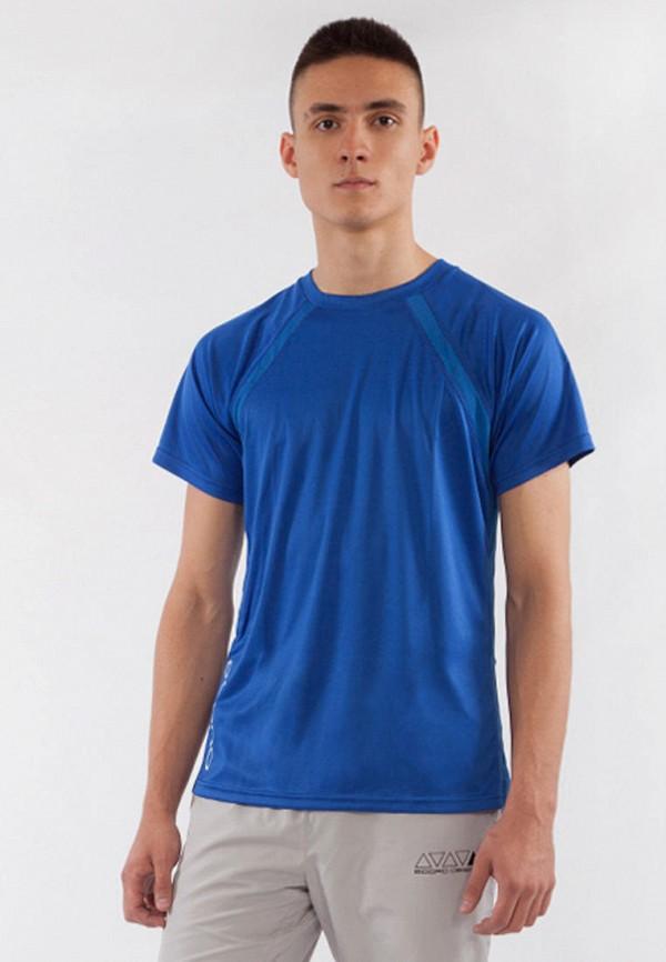 мужская спортивные футболка bodro design, синяя