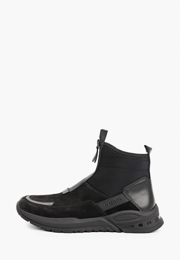 мужские высокие кроссовки mascotte, черные
