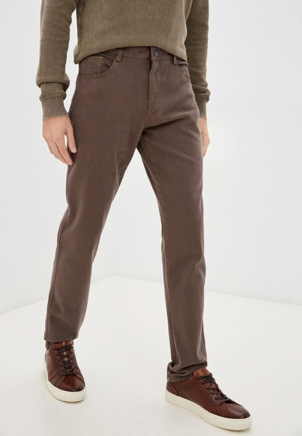 мужские повседневные брюки baon, коричневые