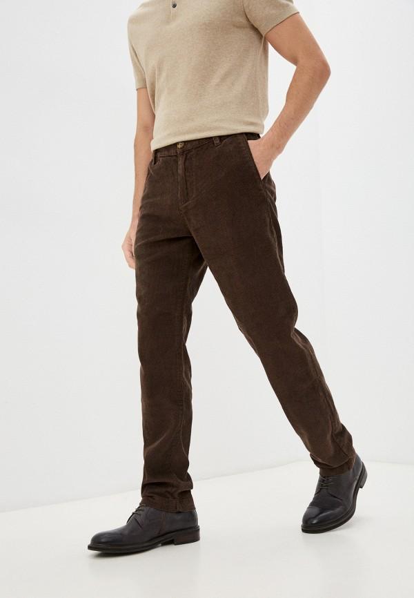 мужские прямые брюки baon, коричневые