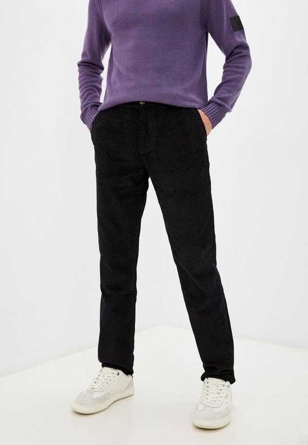 мужские зауженные брюки baon, черные